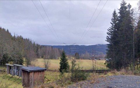 Ledningen strekker seg blant annet gjennom Sørkedalen.
