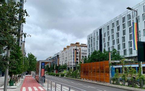 NOMINERT: Dronning Eufemias gate er en av de 14 som er nominert til arkitekturpris.
