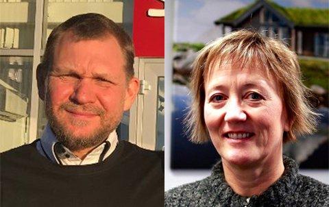 Stein Roar Kristiansen og Irene Mathilde Skiri er blant søkerne.
