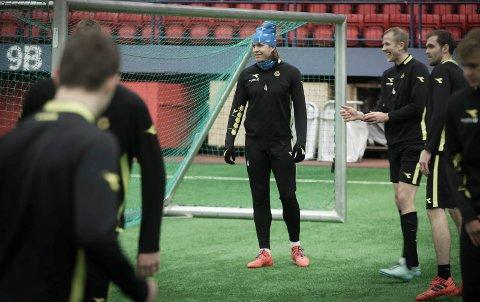 Mye tyder på at Martin Bjørnbak forlater Glimt til fordel for Molde. Foto: Tom Melby