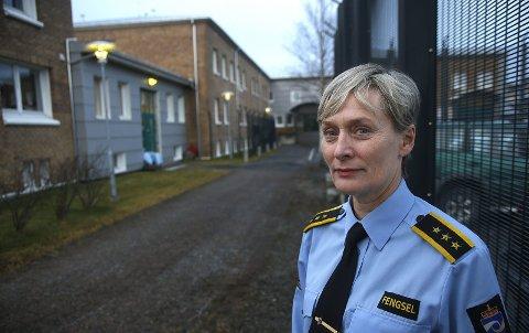 Fengselsleder Marte Helness i Bodø fengsel.