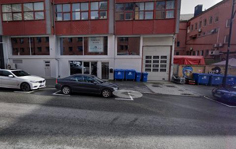 I lokalene like ved Dama Di skulle duoen etablere et nytt treningssenter. Nå er planene lagt død. Skjermdump: Google Maps