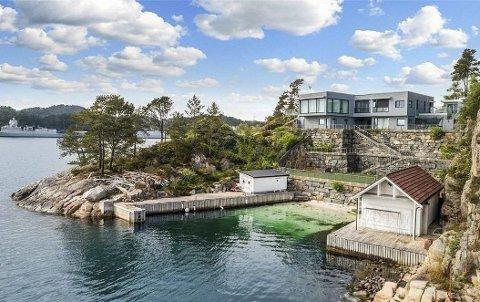 Denne boligen på Bjørge i Fyllingsdalen ble solgt for 30 millioner kroner.