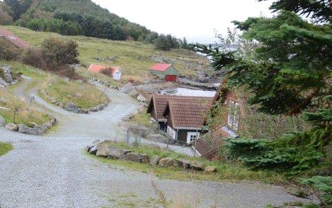 Åmøy Fjordferie: På Vestre Åmøy i Rennesøy.