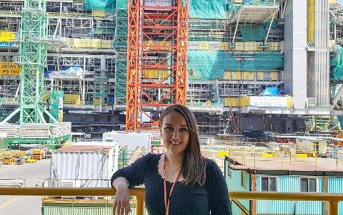 Gitte Kalsvik jobbar for tida for Statoil i Korea og seier ho trivast god med lange dagar og nye opplevingar.