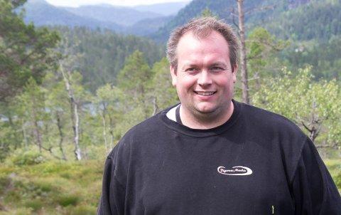 DAGLEG LEIAR: Olvar Sølve Digernes (35) er dagleg leiar i Digernes Maskin.