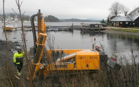 BORERIGG: Cowi AS har fått den største enkelkontrakten noensinne som Jernbareverket har tildelt.