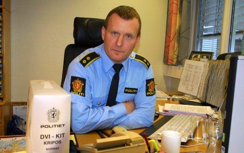 Ivar Prestbakken, lensmann på Hvaler.
