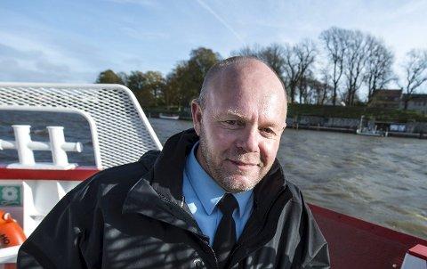 VIL OPP I GRADENE: Frode Samuelsen er i dag virksomhetsleder for parkering og transport, og har nå søkt på stillingen som etatsjef bydrift.