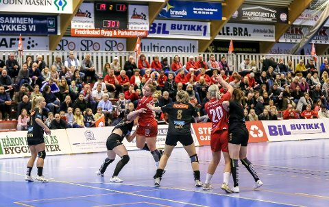 Kan få nytt eliteserieanlegg: FBK kan få ny storstue i den planlagte idrettshallen på Værste, ved Frederik II. (Arkivfoto: Harry Johansson)