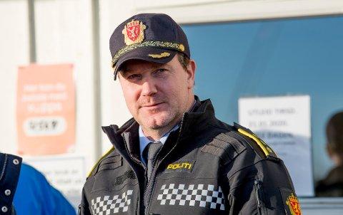 SLUTTER: Krimsjef Rune Albertsen har ryddet ut av kontoret etter over 15 år i Fredrikstad.