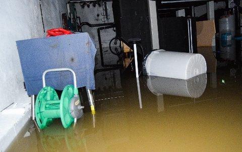 kongsten oversvømmelse Illustrasjon