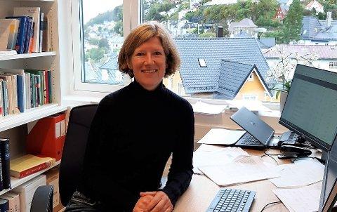 TYDELIG SAMMENHENG:  Lege og forsker Gunhild Felde har funnet en tydelig sammenheng mellom angst/depresjon og urinlekkasje hos kvinner.