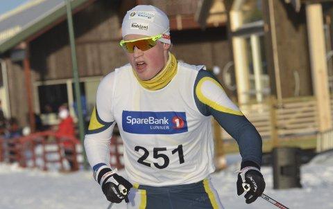 DÅRLIG: Johannes Bjertnæs hadde en forferdelig dag på jobben, og ble nummer 144 på ti kilometer klassisk i norgescupen. Jevnaker-løperen forteller at han fikk en mental utladning etter løpet.