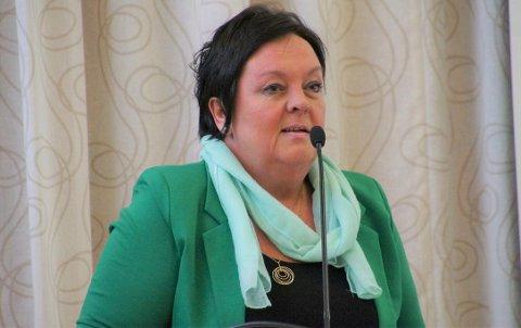 VIKTIG JOBB: Kommunens kontrollutvalg har som oppgave å kontrollere forvaltningen av kommunen. Leder Tove Brorson orienterte kommunestyret om utvalgets aktivitet i 2018.