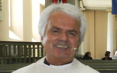 Sogneprest Jan Boye Lystad.