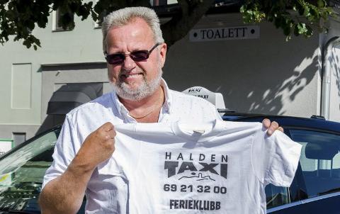 KLAR IGJEN:Bent Skogli og Halden Taxi startet Ferieklubben da Halden kommune avviklet sin egen som følge av trang økonomi. Nå tar de med seg 150 barn til Liseberg for 17. året på rad.