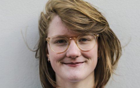 Amalie Lund. Portrett. Miljøpartiet De Grønne.