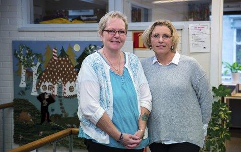 VIKTIG TJENESTE: Frivillig Liv Irene Jensen og prosjektleder Helene Ottosson vil yte ekstra innsats overfor pårørende til syke i Hamar kommune.