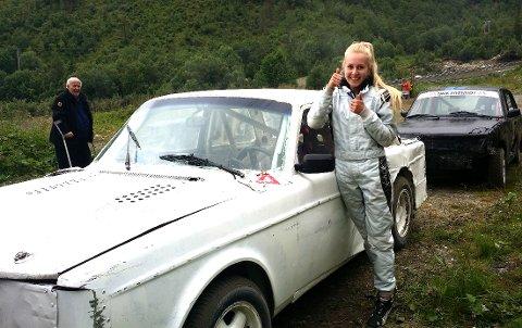 Thea Finsaas vant løpet på søndagen.