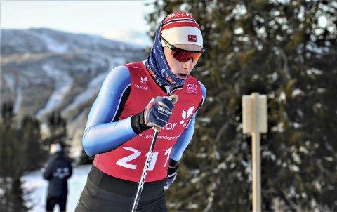 DEBUT: Jesper Abelsen Andreassen ser fram til et nytt idrettsår hvor de nye rennene kommer tett. FOTO: SVEIN HALVOR MOE
