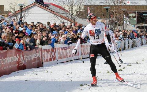 Øystein Pettersen er den som har deltatt flest ganger i Bysprinten fra starten i 2007 og fram til i fjor. Nå er han ambassadør for arrangementet.