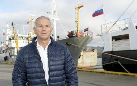 """HELE FINNMARK: Ordfører Geir Knutsen sier Båtsfjord kommune vil gi distriktskvota, eller """"Mehamn-kvota"""", til alle videreforedlingsbedrifter i Finnmark."""