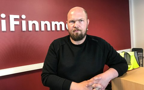 JOBBSØKER: Arnfinn Sjøenden søker jobb i Porsanger kommune.