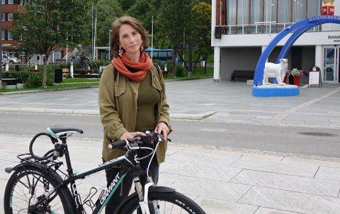 FREMMET FORSLAG: Kommunestyrerepresentant Linn Tjønsø (MDG) spurte ordfører om mulige løsninger på problemet tidligere i år. Nå tas saken opp igjen.