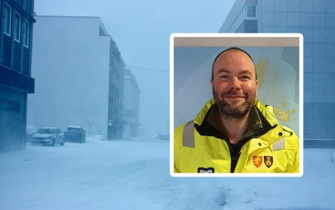 Erik Somby Iversen, byggeleder for driftskontrakten område Hinnøy