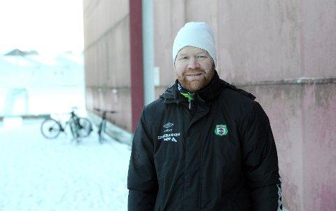 TILBAKE I BRYNE: Bjørn Erik Taksdal ser fram til å jobbe med fotball på heltid.