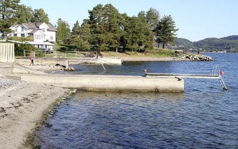 STEDET: Rett ved Smørstein ligger eiendommen i forgrunnen. Arkivfoto: Lars Ivar Hordnes