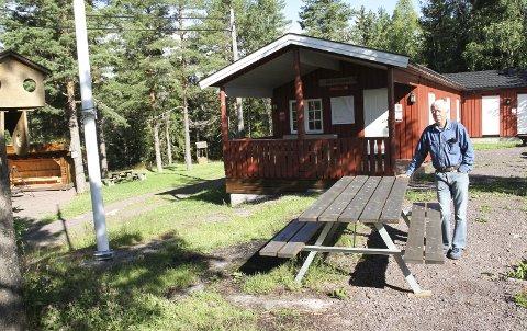 Stolt: Tore Kallestad er stolt over hva den lokale turistforeningen har fått til med Brannåsen-hytta, ved hjelp av pågangsmot og dugnadsvilje. alle foto: lars ivar hordnes