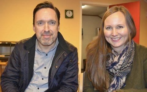 Unge bli med! Kulturskolesjef i Kragerø og Drangedal Thomas Moen oppfordrer unge til å melde seg på til «Ung kultur møtes». Annika Westgaard, som arbeider i kulturskolen i Kragerø og som prosjektkontakt, vil ha unge med på gratis workshop med film og kunst neste helg.