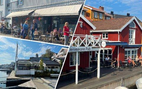 FIKK STØTTE: Haven Restaurant, Hos Gro og Jensemann Pub er blant de lokale bedriftene som fikk penger i forrige runde.