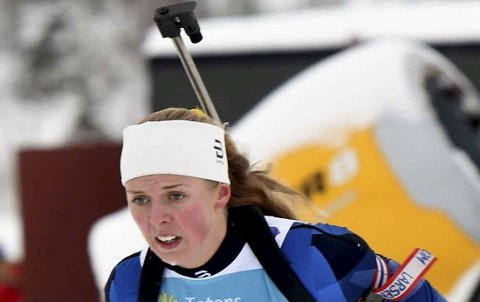 TIL IBU-CUP: Nora Dokken Berget, Svene.