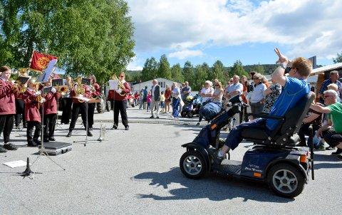 LAMPELAND: I stedet for vanlig Lampelandmarken, blir det drive-in konsert på Stevningsmogen 13. juni.