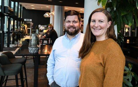 Satser videre: Lasse Bjørback og Kristine Andreassen satser med en nysatsing i Svolvær i sommer. Her fra Du Verden som også er blant virksomhetene de står bak i Bjørback Gruppen.
