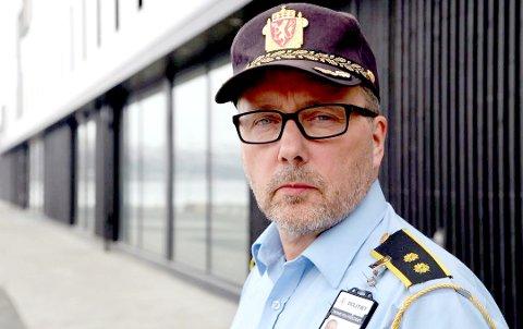 – Noe av økningen må tilskrives omorganiseringen av UP høsten 2016. Det førte til at vi fikk tildelt fire nye patruljer med virkning fra 1. august, mener distriktsleder Geir Harald Marthinsen i Utrykningspolitiet.