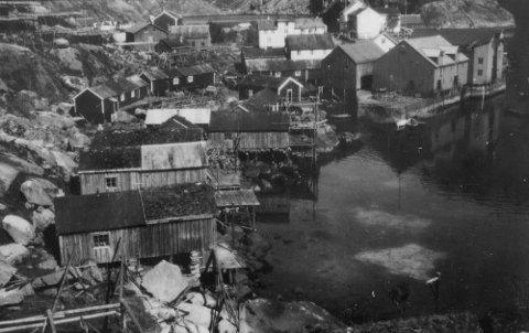 Nusfjord i 1933.