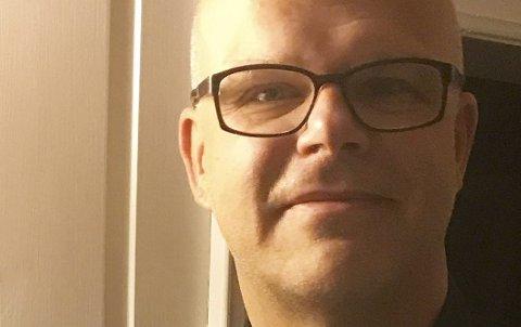 Lasse Imrik, administrativ leder i Kirkens Bymisjon Østfold.
