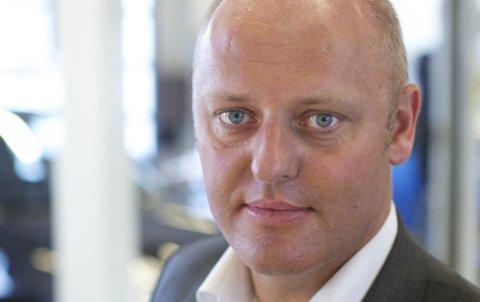 Stig Skjøstad, administrerende direktør i NAF