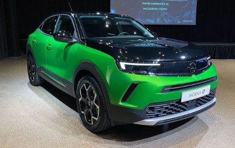 Her er helt nye Opel Mokka-e på plass i Norge – nesten et halvt år før den offisielle lanseringen her til lands. Alle bilder: Mats Brustad / Broom