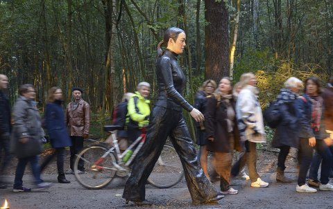 MYE MORO: Ekebergparken / C. Ludens Ringnes stiftelse arrangerer forskjellige aktiviterer i skulpturparken gjennom hele mai, bortsett fra 17. mai, da parken holder stengt. ARKIVFOTO