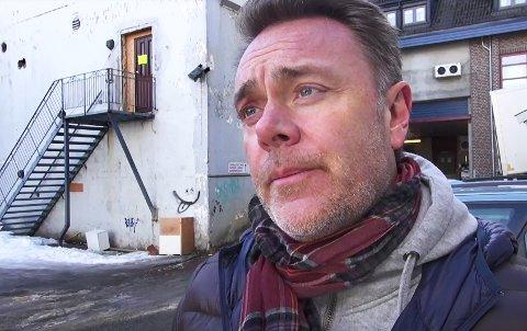 Bård Sverdrup har store planer for forfalne bakgården i Tromsø sentrum.
