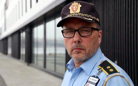 KONTROLLER: Geir Marthinsen forteller at UP blir å opprettholde kontrollaktiviteten gjennom helgen.