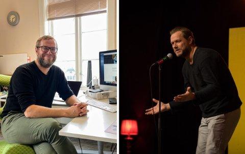 KONTOR: Roy-Arne Johannessen er tilbake på kontoret, noe han ikke var sikker på om han kom til gjøre.