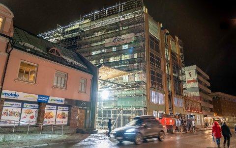 BETONG: Jaro har blant annet levert betongelementer til Storgata 25.