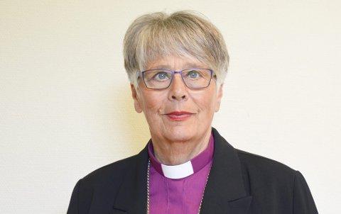 OPPRØRT: Biskop Solveig Fiske.