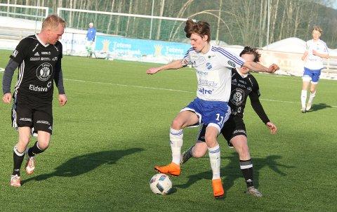 Daniel Amlien var Redalens målscorer i 1-1-kampen mot Moelven.